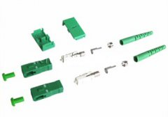 made in china  SC/APC fiber connector singlemode with 3.0mm boot Duplex  company